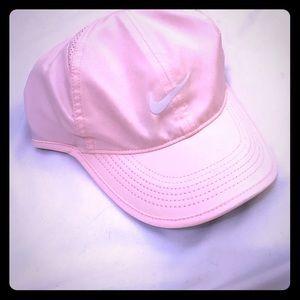 Pink Nike lightweight cap